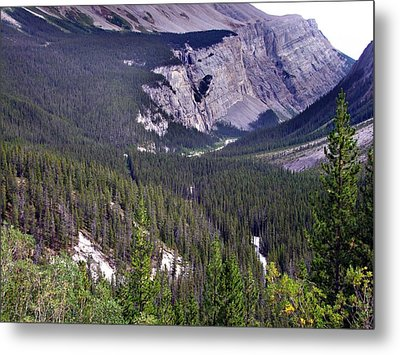 Bow River Valley Metal Print by George Cousins