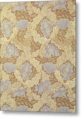 Bower Wallpaper Design Metal Print by William Morris