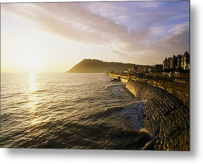 Bray Promenade, Co Wicklow, Ireland Metal Print by The Irish Image Collection