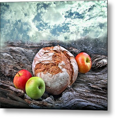 Bread Of The World Metal Print by Manfred Lutzius
