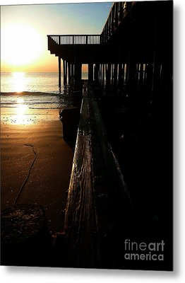 Break Of Day Metal Print by Scott Allison