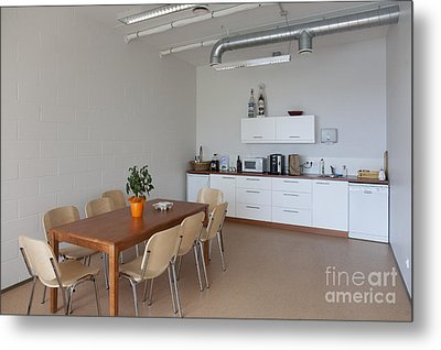 Break Room Metal Print by Jaak Nilson