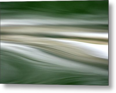 Breath On The Water Metal Print by Cathie Douglas