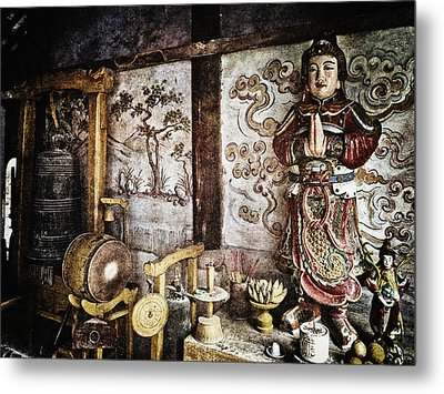 Breath Metal Print by Skip Nall