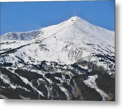 Breckenridge Peak 8 Metal Print