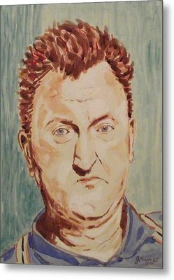 Brendan Behan Metal Print