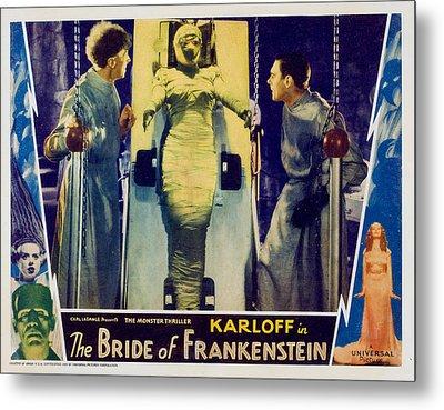 Bride Of Frankenstein, Ernest Metal Print by Everett