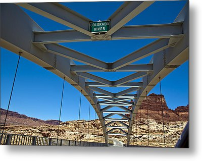 Bridge Across Colorado Metal Print by Scotts Scapes