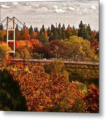 Bridge Metal Print by Bill Owen