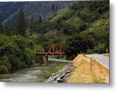 Metal Print featuring the photograph Bridge On Highway 70 by Gary Rose