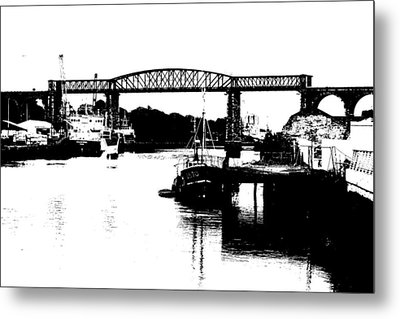 Metal Print featuring the photograph Bridge On The Boyne by Charlie and Norma Brock
