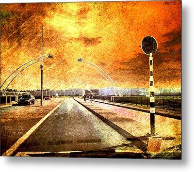Bridge Over Troubled Water  Metal Print by Yvon van der Wijk