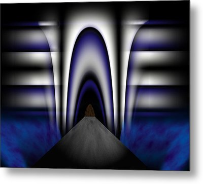 Bridge Over Troubled Waters Metal Print by Christopher Gaston