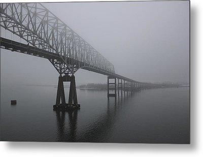 Bridge To Nowhere Metal Print by Shelley Neff