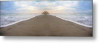 Bridge To Parallel Universes  Metal Print by Betsy Knapp