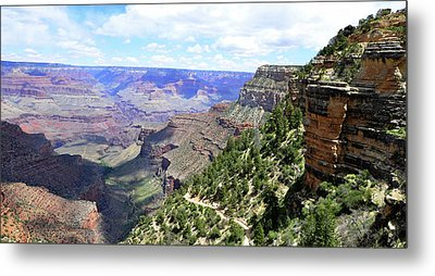 Metal Print featuring the photograph Bright Angel Trail by Paul Mashburn