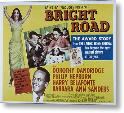 Bright Road, Dorothy Dandridge, Harry Metal Print by Everett