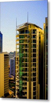 Brisbane 25th Floor 02 Metal Print by Joe Michelli