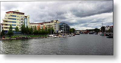 Bristol Panoramic Photograph Metal Print