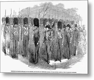 Britain: Fusiliers, 1854 Metal Print by Granger
