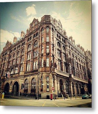 #britanniahotel  #hotel #buildings Metal Print by Abdelrahman Alawwad
