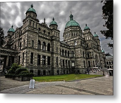 British Columbia Parliament Buildings Metal Print by Gregory Dyer