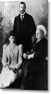 British Royal Family. Mary, Duchess Metal Print by Everett