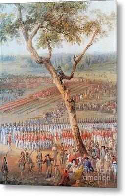 British Troops Surrender At Yorktown Metal Print