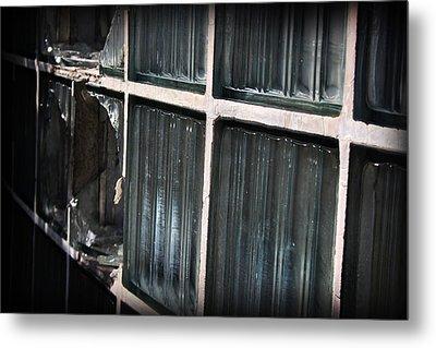 Broken Window Metal Print by Kelly Hazel