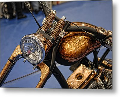Metal Print featuring the photograph Bronze by Sami Martin