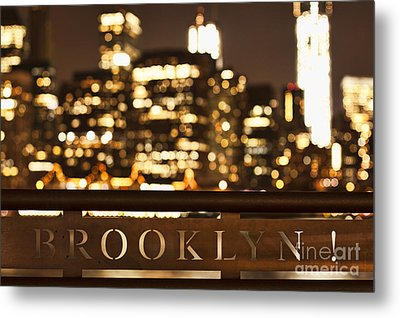 Brooklyn Bubbly Metal Print by Andrew Paranavitana