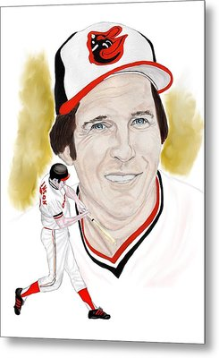 Brooks Robinson Metal Print by Steve Ramer
