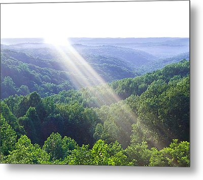 Brown County Metal Print by Drew Wing
