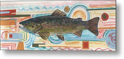 Brown Trout 1 Metal Print by Michelle Grove