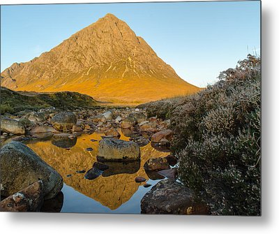 Buachaille Etive Mor At Sunrise Metal Print by Ben Spencer