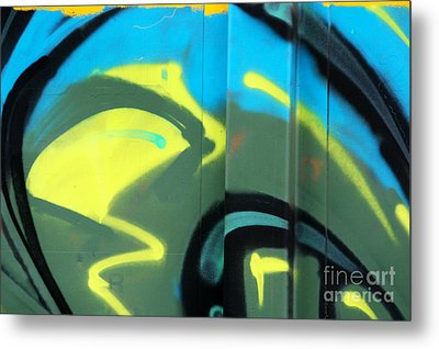 Metal Print featuring the photograph Bubble Abstract by Joan McArthur
