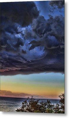 Bubble Cloud Metal Print by Douglas Barnard