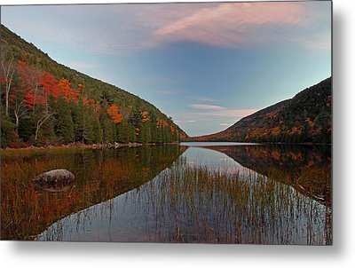Bubble Pond At Autumn Glory Metal Print by Juergen Roth