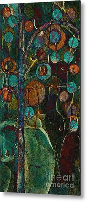 Bubble Tree - Spc01ct04 - Right Metal Print by Variance Collections