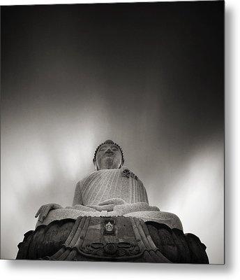 Buddha Statue Metal Print by Teerapat Pattanasoponpong