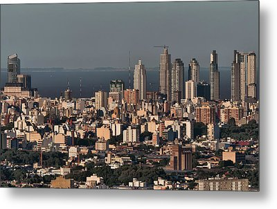 Buenos Aires Metal Print by Celta4