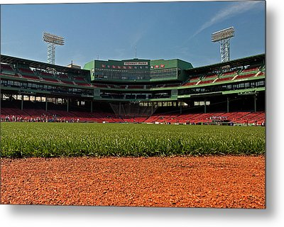 Bugs Eye View From Center Field Metal Print by Paul Mangold