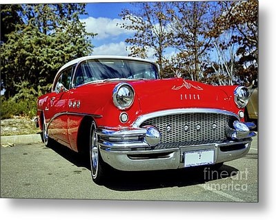 Metal Print featuring the photograph Buick by Paul Svensen