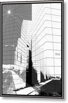Building Blocks Metal Print by Glenn McCarthy Art and Photography