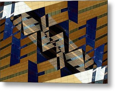 Building Deconnexion Metal Print by R Kyllo