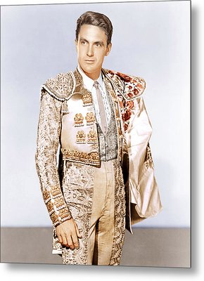Bullfighter And The Lady, Robert Stack Metal Print by Everett