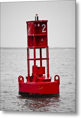 Buoy Two Metal Print by Donni Mac