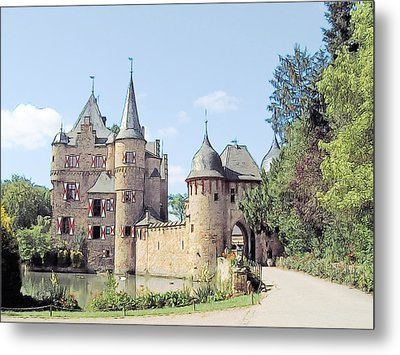 Burg Satzvey Germany Metal Print by Joseph Hendrix