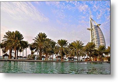 Burj Al Arab Dubai Uae Metal Print by Anusha Hewage