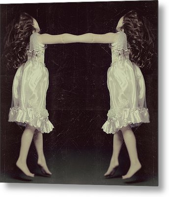 Burlesque Twins Metal Print by Tove Jessica Frank